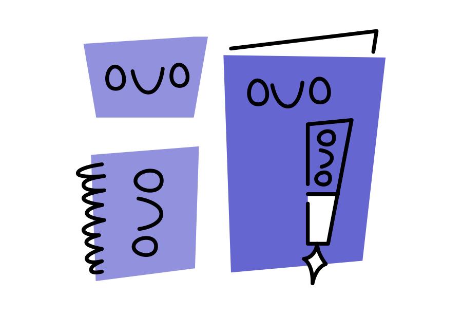 Creación de logotipo y aplicaciones